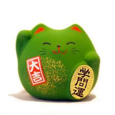 feng shui green cat