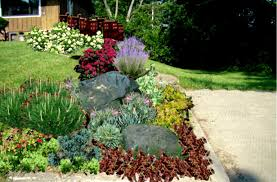 Pictures Of Rock Gardens Landscaping by Best Rock Landscaping Front Yard Design Ideas For Country Home