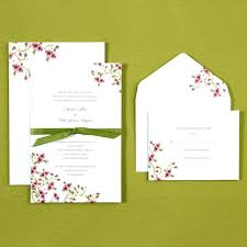 brides wedding invitation kits brides magazine wedding invitations and cherry blossom