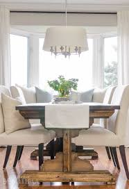 Diy Farmhouse Dining Room Table Diy Farmhouse Dining Table Plans A Burst Of Beautiful