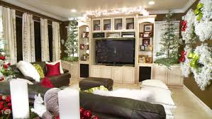 small space christmas decor video hgtv