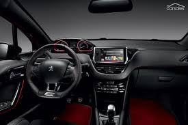 peugeot car interior new peugeot 208 hatch cars for sale carsales com au