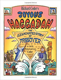 passover seder books richard codor s joyous haggadah a children and family