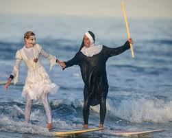 city of brea halloween event photos halloween meets surfing in annual newport beach event