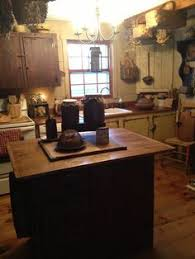 Central Kentucky Log Cabin Primitive Kitchen Eclectic Kitchen Louisville By The - kennebec company pine kitchen kitchen cabinetry and planes