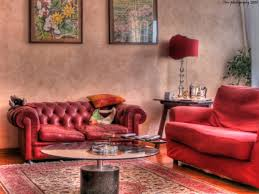 floor l with red shade living room delectable living room with red sofa deoration using