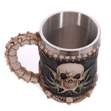 aliexpress com buy 3 types 2017 awesome skull spine mugs coffee