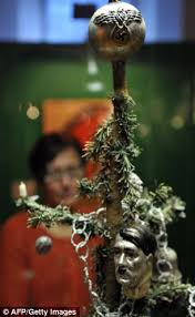 Plant Used As A Christmas Decoration How Even Invaded Christmas Exhibition Displays Swastika