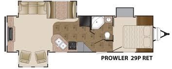 prowler cer floor plans prowler travel trailers good prowler travel trailer floor plans