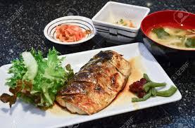 jeux de cuisine de poisson style de cuisine japonaise jeu de saba poisson grillé avec du riz