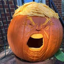 10 trumpkins that are making halloween great again inhabitat