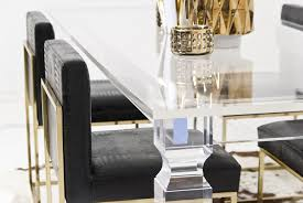 Lucite Dining Room Chairs Lucite Dining Room Table Home Design Ideas