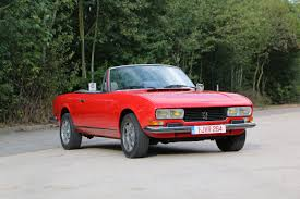 classic peugeot coupe 1977 peugeot 504 v6 classic driver market