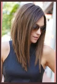 how to cut angled bob haircut myself angled long haircut pertaining to hairstyle pinteres