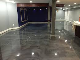 Painting Basement Floor Ideas by Ideas Paint Metallic Epoxy Basement Floor Jeffsbakery Basement