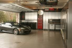 Garage Design by Astounding Garage Design For A Modern House With Wooden Sliding