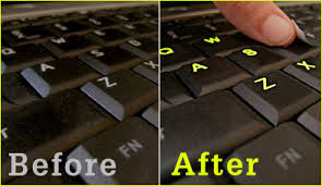 glow in the stickers glowing keyboard stickers glowing flourescent keyboard