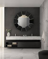 the perfect oversized mirror for your bathroom home decor ideas