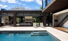 Heritage House Home Interiors Modern Pool House Dr House