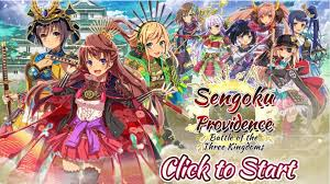 Warlord Dating Sim RPG Sengoku Providence Released on Nutaku     If you     ve ever wanted to go to the Sengoku period of Japan in a game that mixes turn based combat  strategy and dating famous gender flipped warlords