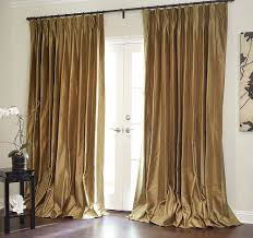 Kohls Curtain Rods Picture Marquee Faux Silk Pinch Pleat Drapery Marquee Faux Silk