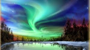 places you can see the northern lights one of the best places to see the northern lights ice skate
