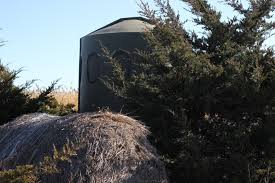 Elevated Bow Hunting Blinds Bow Hunting South Dakota Whitetails Ground Blinds Double P Ranch