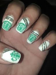 9 best starbucks nails images on pinterest starbucks nails