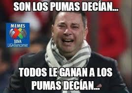 Memes De America Vs Pumas - memes no perdonan a las águilas tras derrota con pumas pulso