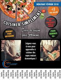 cours de cuisine d饕utant cours de cuisine pour d饕utant 100 images cours de cuisine d饕