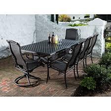 Alfresco Home Outdoor Furniture by Amazon Com Alfresco Home Hemingway All Weather Wicker Square 8