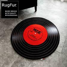 personalized record album personalized creative album rug bedroom basket floor mat