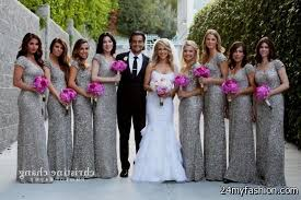silver bridesmaid dresses sparkly silver bridesmaid dresses 2016 2017 b2b fashion