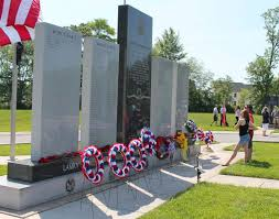 Baltimore County Flag Lamky Luther Whitehead Veterans Memorial Honors Fallen East