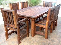 wood patio dining set home design ideas