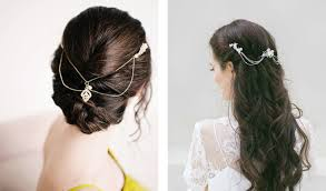 hair chains how to dress up your do with bridal hair accessories bridalpulse
