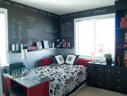 chambre ados design interieur idées décoration chambre ados tableau noir 100