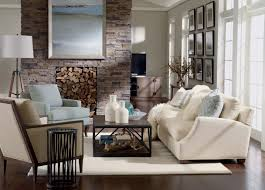 2 Chic And Cozy Cosmopolitan Rustic Chic Living Room Ethan Allen