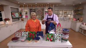 lock lock set of 4 bowls with gift bags on qvc