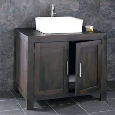 Solid Wood Bathroom Cabinet Solid Wood Bathroom Vanity Units Solid Oak Double Door Bathroom