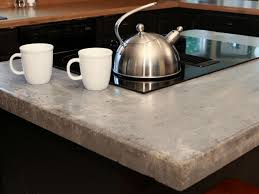 Poured Concrete Home by How To Make A Concrete Countertop How Tos Diy