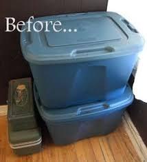 decorate plastic bin with self adhesive shelf paper i found mine