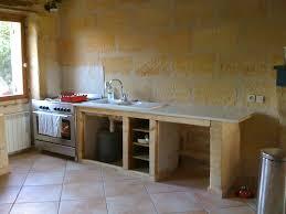 fabriquer une cuisine en bois maison design bahbe com avec fabriquer