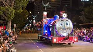 perth lights up for christmas pageant