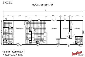 Floor Plans Of Mobile Homes Sunshine Double Wide Mobile Home Floor Plans Home Deco Plans