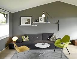 deco canapé gris déco salon gris canapé gris anthracite chaise verte