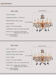 Esszimmer Lampe Kerzen Kristall Glas Kerzen Kronleuchter Lichter Mode Wohnzimmer Anhänger