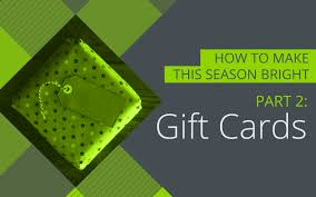 how to make gift cards giving the gift of gift cards