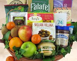 vegetarian gift basket special diet gift baskets by fancifull