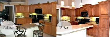 Sears Cabinet Refacing Entrancing 50 Kitchen Cabinets Refacing Before And After